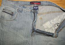 "Men's ANCHOR BLUE ""Easy"" Zip Fly Light Wash Denim Jeans Sz 38-Short"