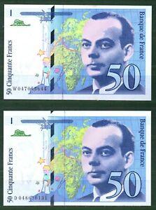 France P 157 50Francs 1992 Continuous No UNC Rare