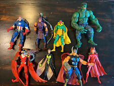 Marvel Legends Toy Biz Hasbro Avengers Lot Of 8: Thor Capt America, Hulk Variant