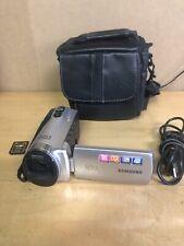 Samsung Hyper Dis 65X Intelli-Zoom Handheld Long Video Photo Camcorder 4gb Mem