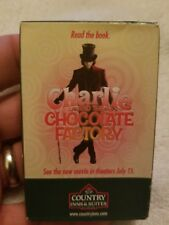 Charlie And The Chocolate Factory Country Inn & Suites Unopened Playing Cards