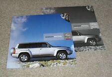 Nissan folleto patrulla 2007-2008 3.0 Trek/aventura