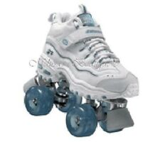 size 3 youth SKECHERS 4 WHEELER ROLLER SKATES skate quad derby girls childrens