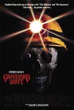 GRAVEYARD SHIFT (1990) ORIGINAL MOVIE POSTER  -  ROLLED