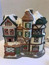 Vintage Porcelain Village Carols Christmas Shop