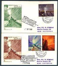 SAN MARINO - 1969 - 21° Giornata Filatelica S. Marino-Riccione su FDC Venetia
