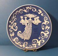 """Royal Copenhagen Blue Mother's Day Plate 1972 - Mors Dag Plate 6"""""""