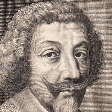 Portrait XVIIe Henri De Schomberg Comte Nanteuil Durtal Gouverneur Languedoc