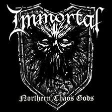 Immortal NORTHERN CHAOS GODS Limited GATEFOLD New White Colored Vinyl LP