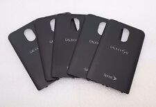 LOT OF 5 OEM Samsung Galaxy S2 (Sprint) Black Back Battery Door Cover