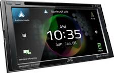 "JVC KW-V950BW 6.8"" Double DIN Bluetooth MP3/USB/WIFI Android Auto Apple CarPlay"