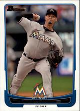 2012 Bowman Baseball #30 Anibal Sanchez Miami Marlins