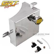 Radiator Coolant Reservoir Overflow Tank Can For Nissan 240SX Kühler Silber