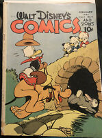 53 WALT DISNEYS COMICS AND STORIES #53 BARKS golden age comic 1943