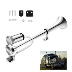 178db 12V Single Trumpet Loud Air Horn Compressor Car Truck Train Boat Train Bus