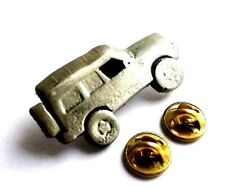 Land rover Car Handcrafted English Pewter Lapel Pin Badge Last Few