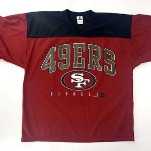 RARE 1996 Vintage San Francisco 49ers Riddell Authentic NFL Jersey Size Large