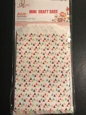 Webster's Pages NEW Family Traditions 25 Mini Craft Bags
