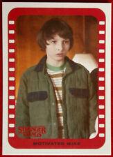 Stranger Things - Season One - Sticker Card Cs-3 - Motivated Mike - Topps 2018