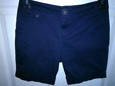 DKNY Jeans Women's 5 Pocket Blue Chino Walking Shorts Size 2