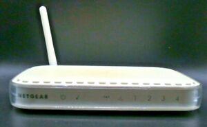 NETGEAR WGR614 V9 54 Mbps 4-Port 10/100 Wireless G Router w/ Power Cord
