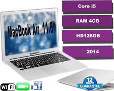 """Apple MacBook Air A1465 11.6"""" Core i5 1.4GHz RAM 4GB HD128GB 12 M Warranty"""