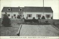 Sound Beach Long Island NY Club House 1940s Postcard