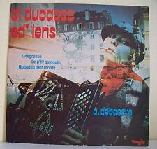 """33 tours A. DEBAECKE Disque LP 12"""" AL DUCASSE ED' LENS - Musette MARKA 6009 Rare"""