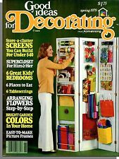 Good Ideas For Decorating - 1979, Spring - Screens, Super Closet, Kids Bedrooms