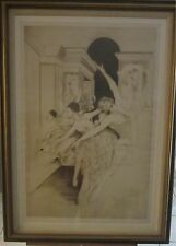 "Stunning GH Rothe Mezzotint ""Bolshoi""1973 Surreal Bolshoi Ballet-ARTISTS PROOF!!"