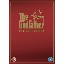 THE GODFATHER DVD COLLECTION - 4 DISCS - NEW / SEALED DVD - UK STOCK