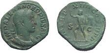 Ancient Rome Severus Alexander AD 222-235 Large AE sestertius SOL INVICTUS