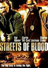 "NEW DVD // Streets of Blood // Sharon Stone, Val Kilmer,Curtis ""50 Cent"" Jacks"
