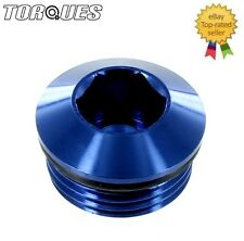 """AN -8 (-8AN ORB-8 3/4"""" UNF) Round Head Port Plug with O ring"""
