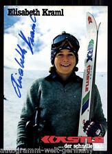 Elisabeth Kraml 80er J. TOP AK Orig. Sign. +A 2958 + A 65626