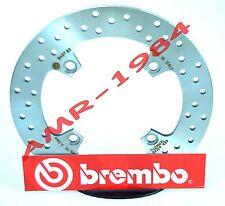DISCO FRENO POSTERIORE BREMBO HONDA CBF 500 1000 HORNET 600 ABS 2007  68B40783