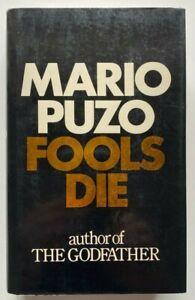 1978 True 1st Fools Die, Mario Puzo, FREE EXPRESS AUST