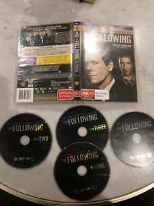 FREE POST The Following The Complete First Season UNCUT - Series Region 4 DVD