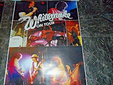 WHITESNAKE   12  POSTER , 3 PLAKATE     4/10