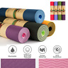 Top Quality Exercise Yoga Pad Mat Non Slip Durable Pilates Physio Fitness Gym