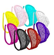 SeXy Herren Pailletten C-String Mini Slip Tanga Borat Bikini Dessous 8 Farben