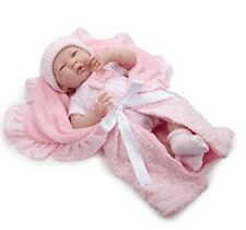 Jc Toys Berenguer 18780 La Newborn Baby Doll with Soft Body Bunting Accessories