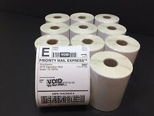 11 Rolls Zebra 2844 ZP450 Eltron 4x6 Direct Thermal Shipping Labels - 250/roll