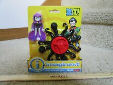 Fisher Price Imaginext New Teen Titans Magic Attack Raven girl purple cloak toy