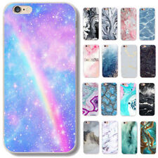 For iPhone 4 4S 5 SE 5C 5S 6 6s 7 Plus Shell Case Cover Printed Silicone TPU