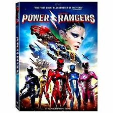 Sabans Power Rangers NEW DVD 2017 Action, Science Fiction NOW SHIPPING !