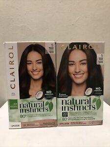 Clairol Natural Instincts Semi-Permanent Hair Color #5 Hazelnut Medium Brown