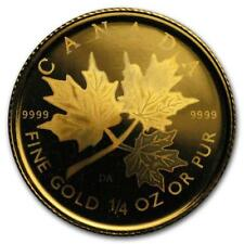 2001 Canada 1/4 oz Gold Maple Leaf BU (Hologram) #PAPPS19533 Lot 20161630
