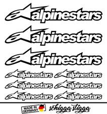Alpinestars Aufkleber-Set Dekor Tuning Decal Motorrad Sticker
