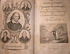 Dramatic Works William Shakespeare vol 1 Illustrated. 1833. Macbeth, Tempest